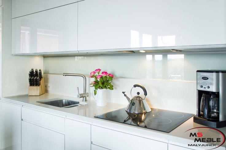 Na niewielkiej przestrzeni zmieściła się w pełni funkcjonalna kuchnia.