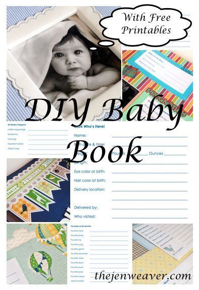 free printable baby book templates - diy baby book with free printables pregnancy parenting