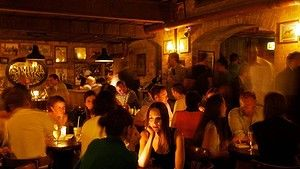 Experts voted Sydney's The Baxter Inn on Clarence Street as the sixth-best bar in the world. It is the highest rated Australian bar. Photo: Domino Postiglione