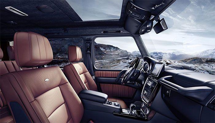 2019 Mercedes G Class Interior Design