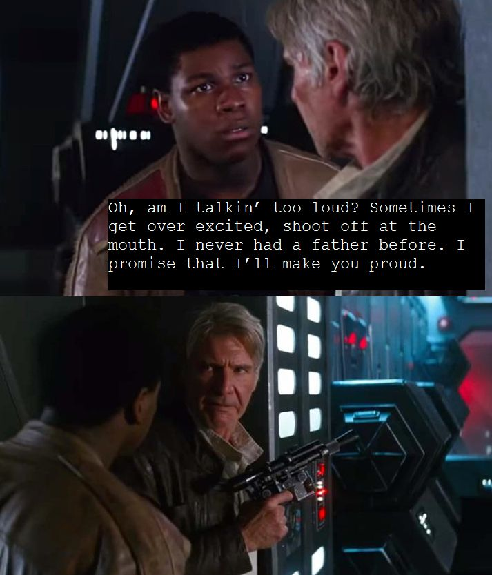#force4ham  (20% of the reason i watched star wars)