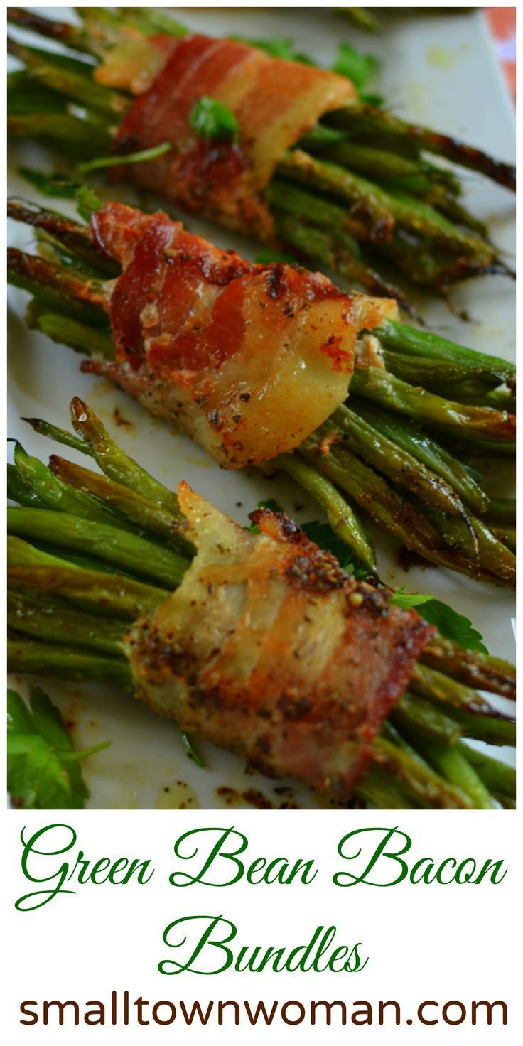 I love green beans and I love bacon.  I know what you are thinking!!  Who in the world doesn't?  Now these little delights are so easy to put together and so perfect for your next soiree.