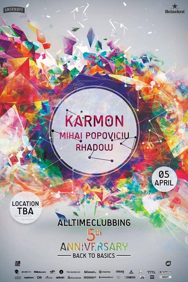 Alltimeclubbing 5th anniversary with Karmon - Timisoara.