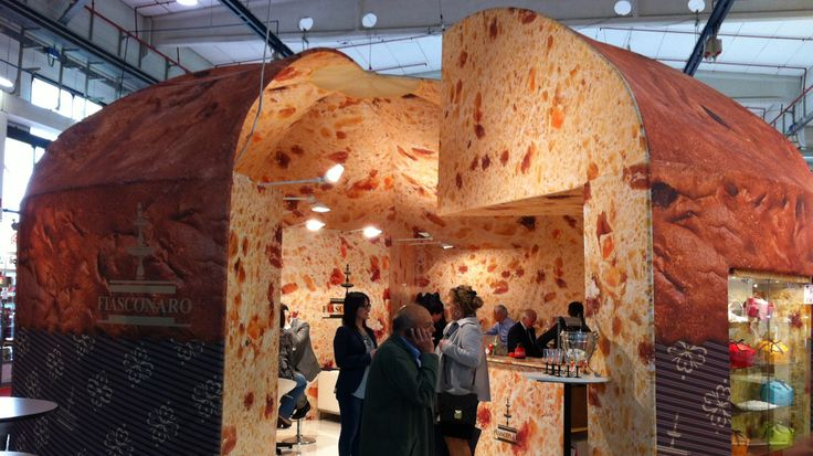 Stand in architettura tessile - Exhibition Stand in Textile Architecture