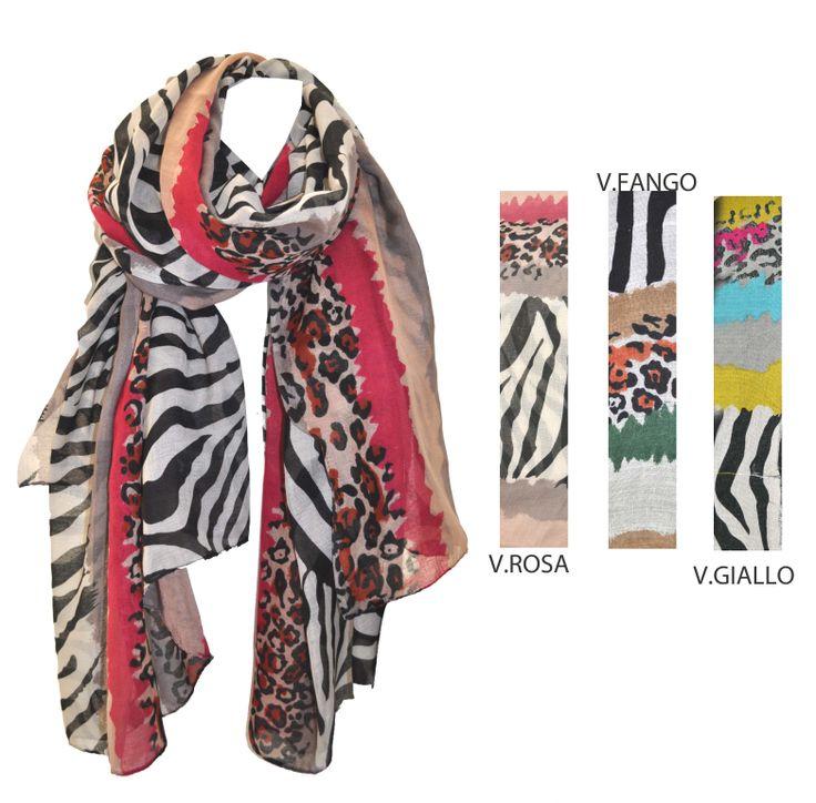 Oggi sfidiamo il venticello insidioso con una #sciarpa dallo #stilegraffiante!! #fashion #madeinitaly #moda #style