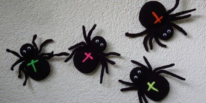 Anleitung für gehäkelte Spinne - z.B. für Halloween | Spinne häkeln