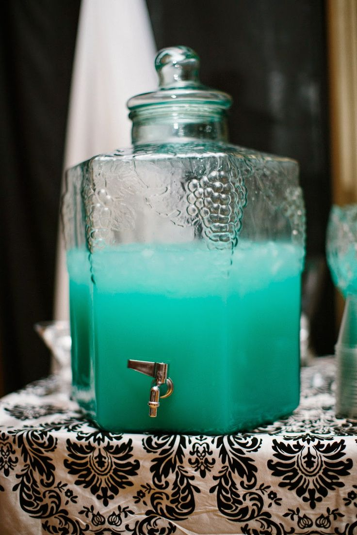 Just Brit: Tiffany Blue Wedding Punch