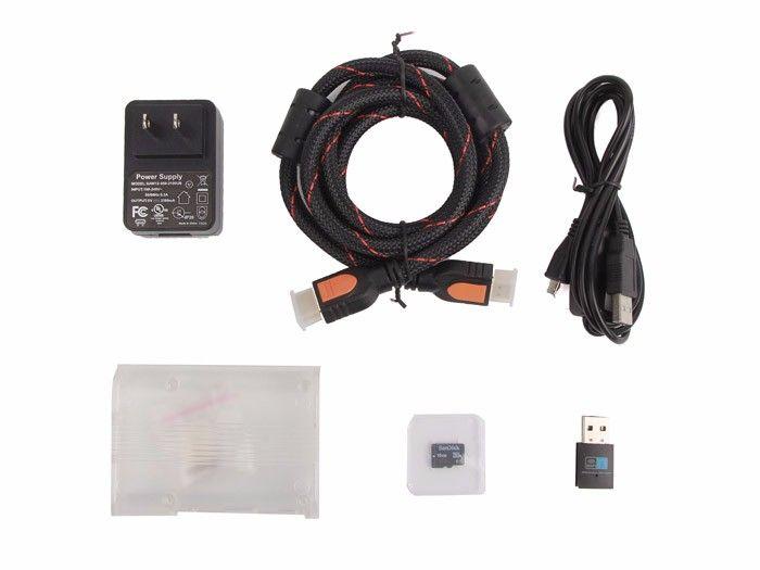 Raspberry Pi 3 Media Center Kit