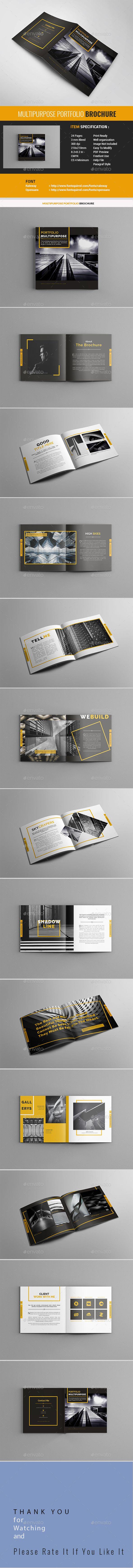 #Portfolio #Brochure - Portfolio Brochures