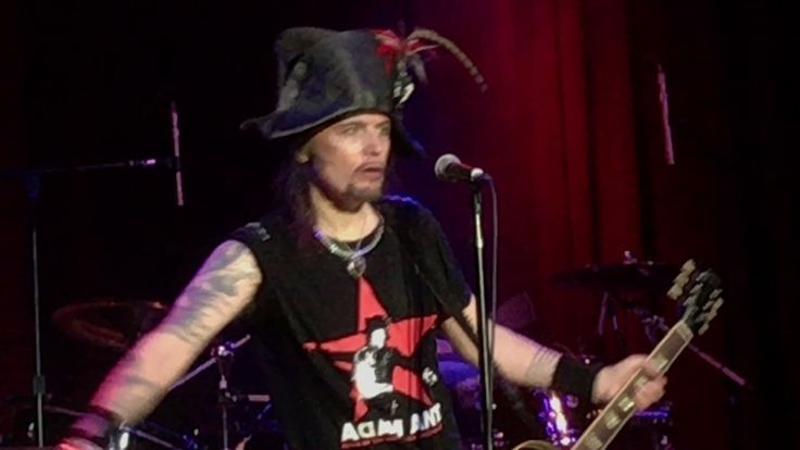 Adam Ant - Get It On & (You're So) Physical live at The Fillmore SF 7 Fe...