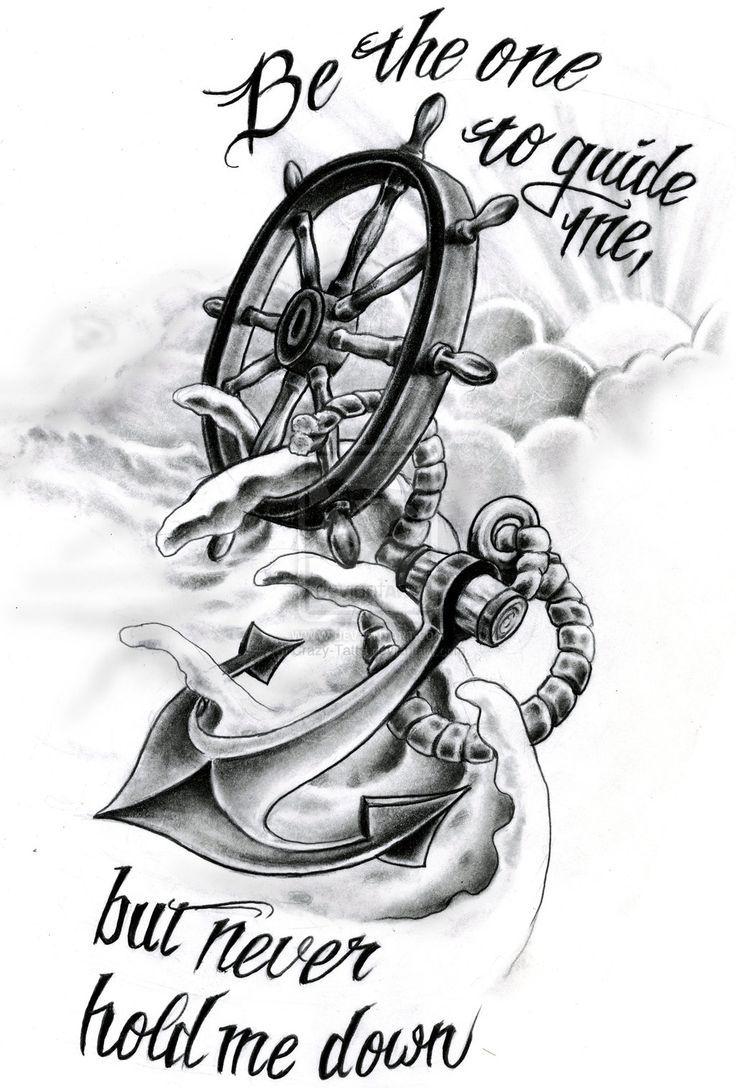 ... anchor tattoo quote tattoo ideas anchor tattoo idea anchor drawing