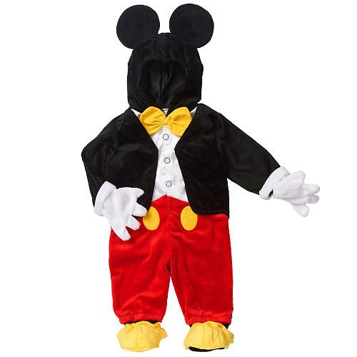"Disney Boys' Black/Red Mickey Mouse Halloween Costume - Babies R Us - Toys ""R"" Us"