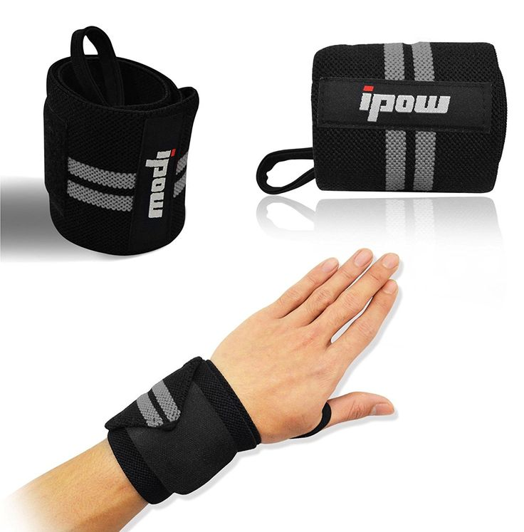 IPOW Unisex Weight Lifting Wrist Straps
