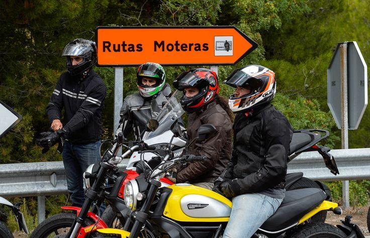 Rutas Moteras por el Bajo Aragón: Paraíso motero   Moto1Pro