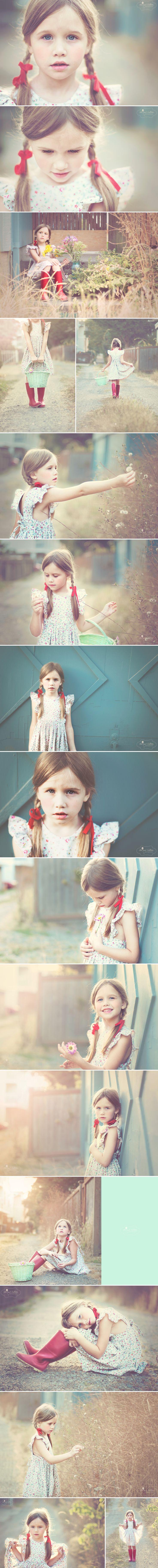Themed portrait cuteness