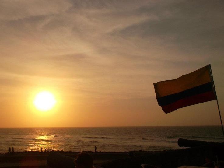 Atardecer Cartagena - Colombia