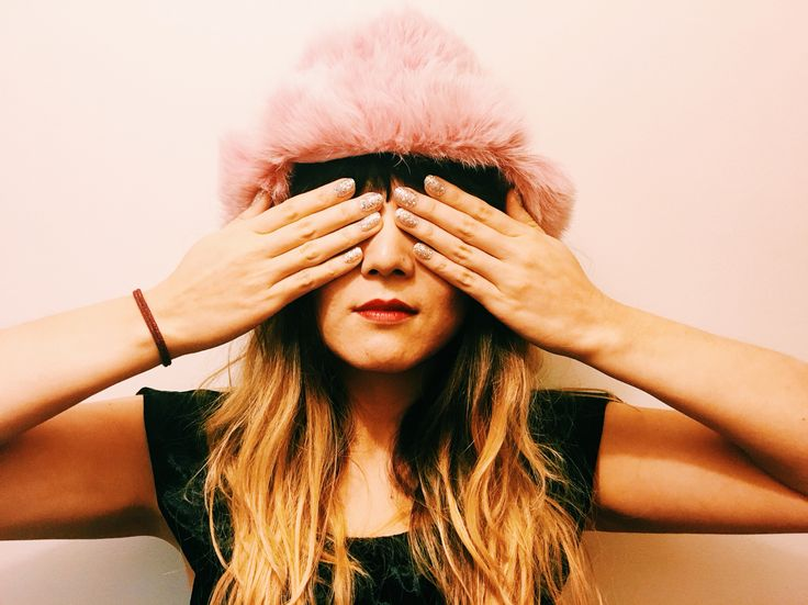 Cecile Millinery Pink fur chapka , handmade in London