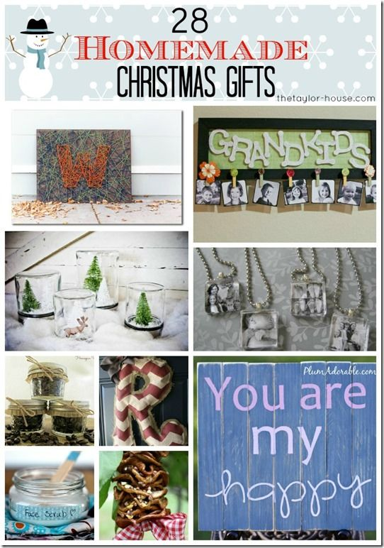 28 Homemade Christmas Gifts for Friends or Family - The Taylor House