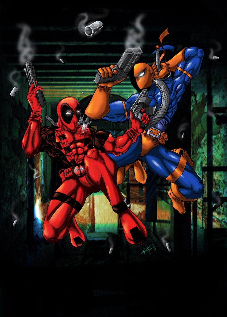 Deadpool vs Deathstroke | deviantART: More Like Deadpool vs Deathstroke by ~Jerem6401