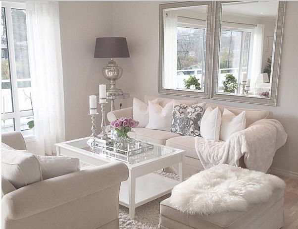Pleasant White Living Room Decorating Ideas Flisol Home Best Image Libraries Thycampuscom