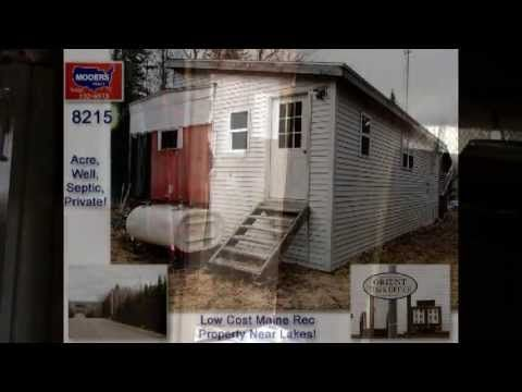 http://www.ownmainerealestate.com Low Cost Maine Real Estate Listing, The Kind Near Many Lakes But Needing A Clean Out, Sprucing Up. But Cheap Cheap … source
