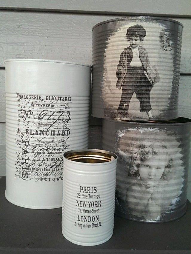 Gjenbruksglede! Personlige gaver av gamle hermetikkbokser