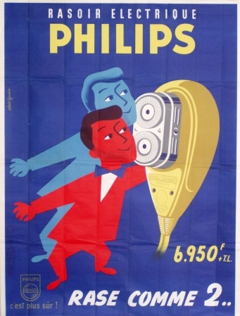 Philips vintage poster.
