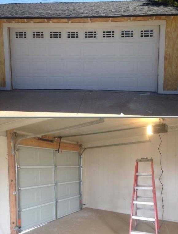This Company Has A Group Of Garage Door Opener Installers Who Also Handle Repair Inspection A Garage Door Opener Installation Garage Doors Garage Service Door