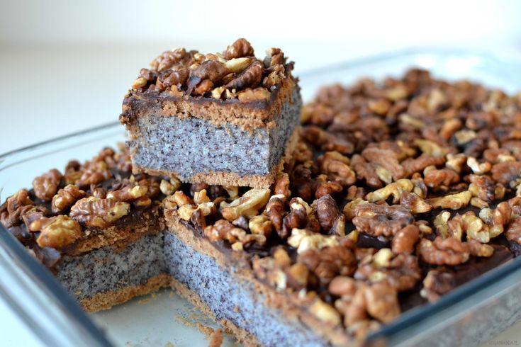 Ciasto makowe bez pieczenia