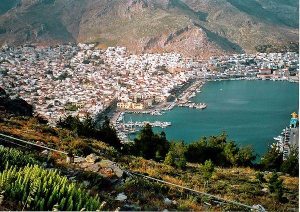 View to Pothia Town