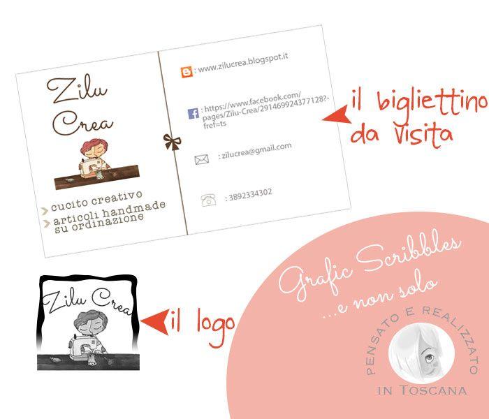 Business Card e logo per Pamela Saccahttp://graficscribbles.blogspot.it/2015/03/businesscardmaker-biglietti-visita.html #businesscard #bigliettivisita #logomaker