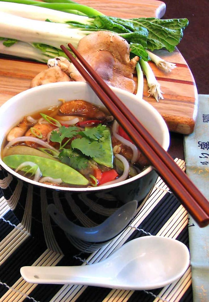 Weight Watchers Zero Point Asian Soup - No guilt here. All vegetables and amazing flavor.