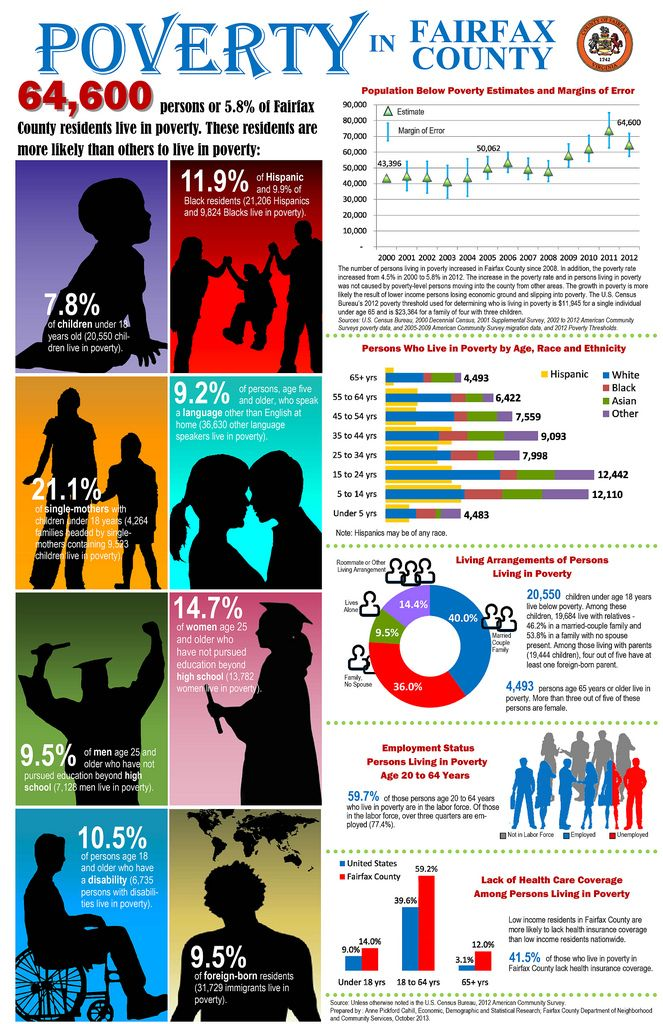 7 best fairfax county infographics images on pinterest fairfax poverty in fairfax county characteristics of persons living in poverty in fairfax county virginia fandeluxe Images