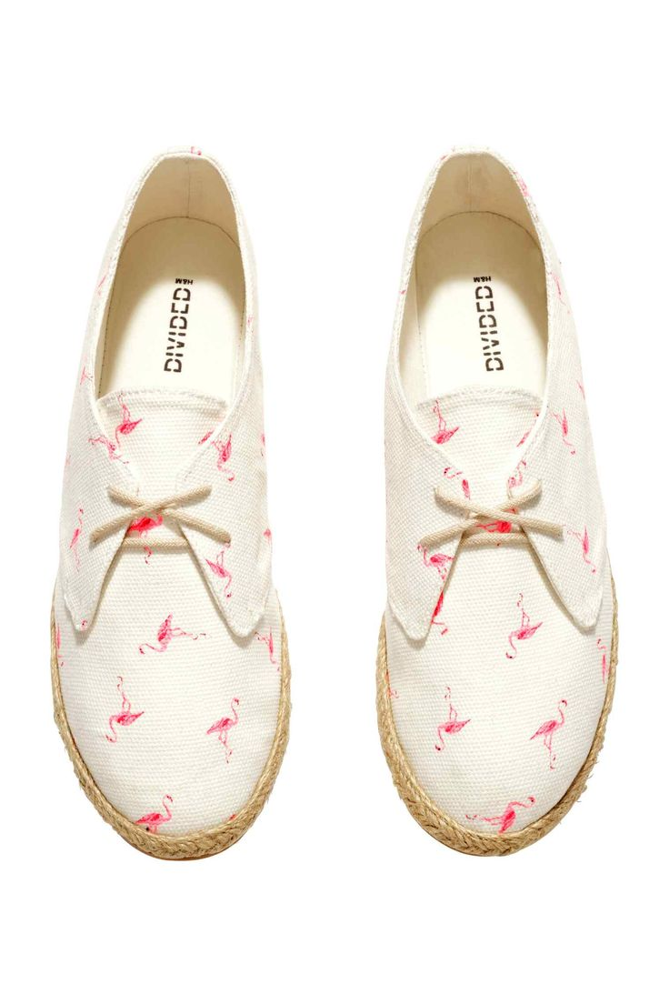Espadrilles Flamants Rose