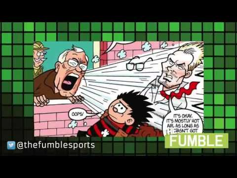 David Beckham and Sir Alex Ferguson Team Up in Beano Comic Strip