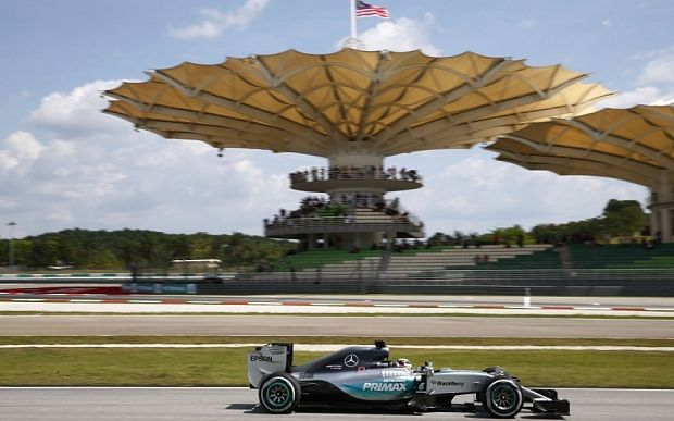 What time does Malaysian Grand Prix start?