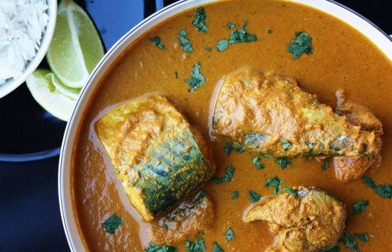 Caballa al estilo Indio-Recetas de cocina de la India - Los mejores platos, bebidas y postres indios - Part 2