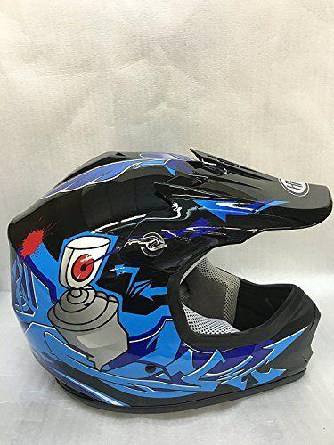 http://motorcyclespareparts.net/smartdealsnow-dot-youth-kids-helmet-for-dirtbike-atv-motocross-mx-offroad-motorcyle-street-bike-flat-matte-black-helmet-large-black-blue/SmartDealsNow DOT Youth & Kids Helmet for Dirtbike ATV Motocross MX Offroad Motorcyle Street bike Flat Matte Black Helmet (Large, Black & Blue)