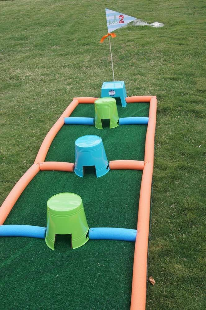 Golf Birthday Party | CatchMyParty.com