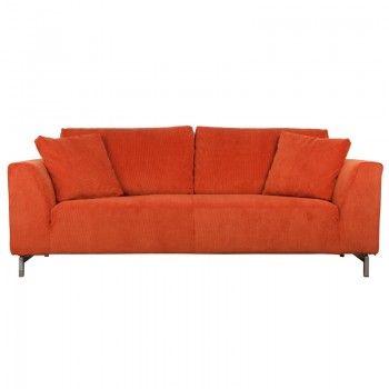 Design sofa Dragon Rib   oranje bank