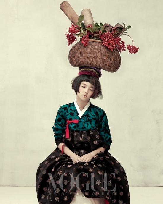 Ogh Sang Sun Vogue October 2010
