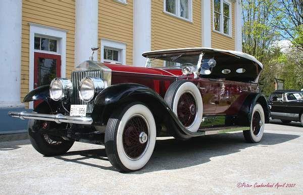 1929 Rolls Royce Phantom I - Rolls-Royce Motor Cars, Goodwood, UK 1904-present)