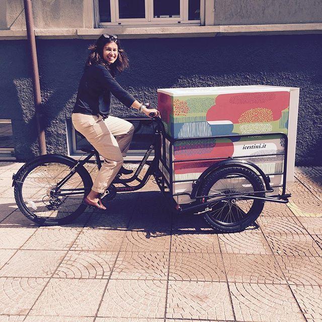 Oddio ma che belle sono?!?!? #foodcycle #iCestinstannoarrivando #cercalabici #pendolaresimo