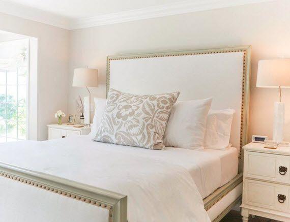 serene white bedroom design