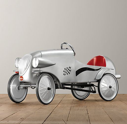le mans pedal car from restoration hardware baby kids oh man i wish i were rich