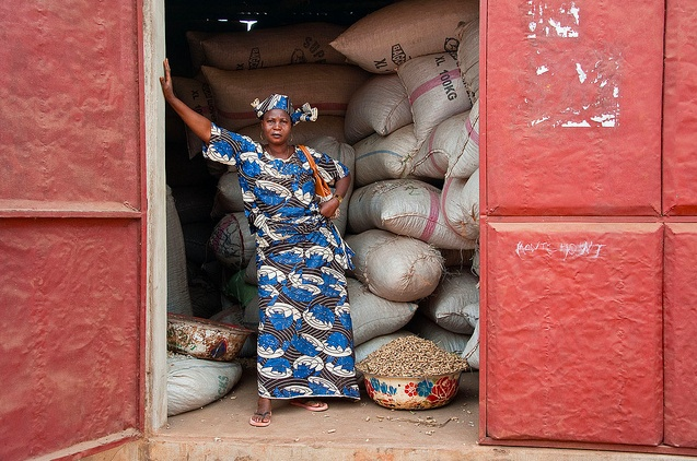 Emelienne Montchohodi är entreprenör i Benin.