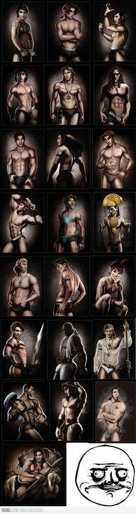 Me gusta the sexy Disney men