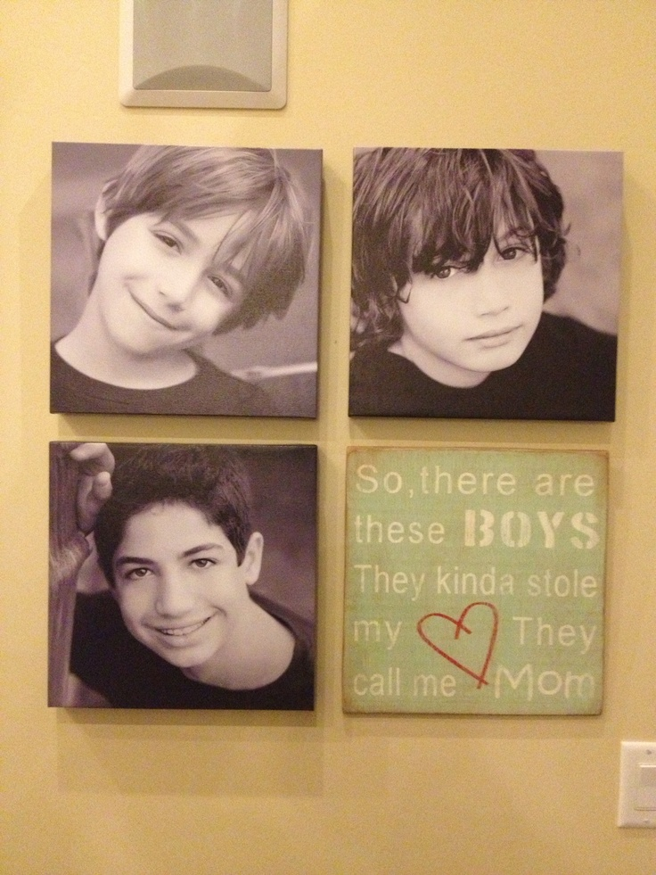 Two great artists - thank you for creating this beautiful artwork of my boys!  I will enjoy looking at it every single day!! @Shannon Bellanca Wright & @ Meredith Baker