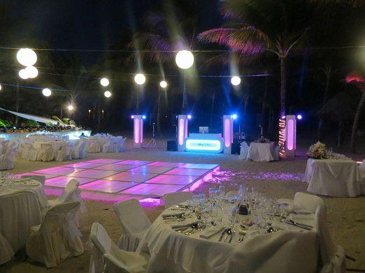 Montaje Paquete No.3 Seleccto,bodas,cancun,eventos,dj,playa del Carmen