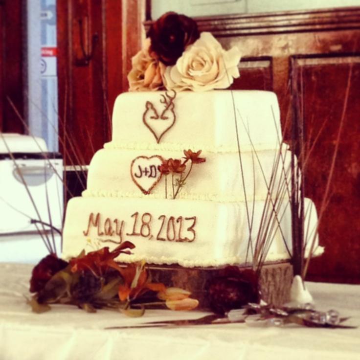 Country Camo Wedding Ideas: Country/Camo Wedding Cake By Jpost